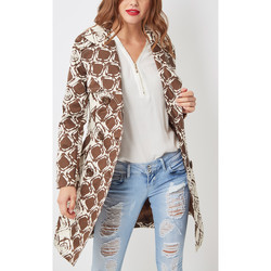 textil Mujer Trench Anany 50183 MARRON