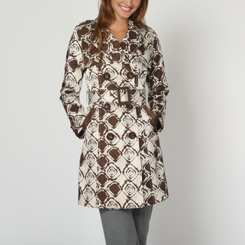 textil Mujer Trench Anany 50184 MARRON
