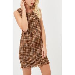 textil Mujer Vestidos cortos Taleyo 64788 NARANJA