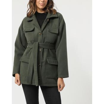 textil Mujer Abrigos Sense 8183-1 VERDE