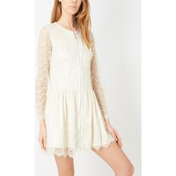 textil Mujer Vestidos cortos Tanna 8514 BLANCO