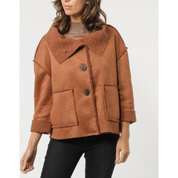 textil Mujer Abrigos Sense 90025 MARRON