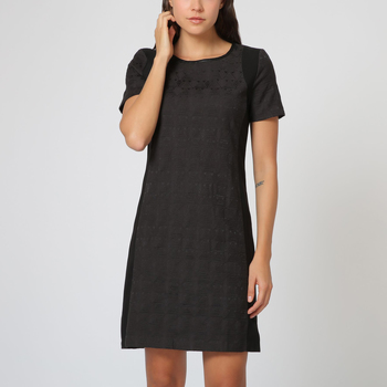 textil Mujer Vestidos cortos Anany AN-130134 NEGRO