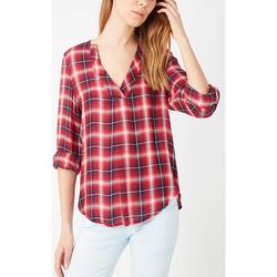 textil Mujer Camisas Anany AN-130328 ROJO