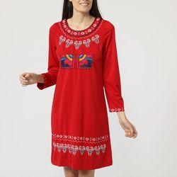 textil Mujer Vestidos cortos Anany AN-160522 ROJO
