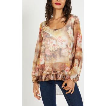 textil Mujer Camisas Anany AN-190169 MARRON