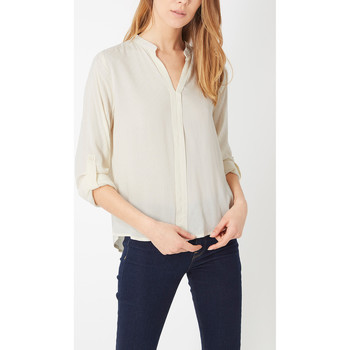 textil Mujer Camisas Anany AN-190173 BEIGE