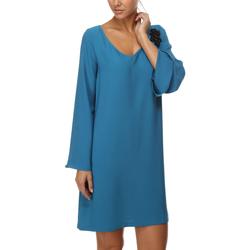 textil Mujer Vestidos cortos Anany AN-190176 AZUL