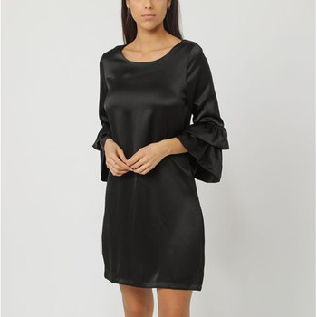 textil Mujer Vestidos cortos Anany AN-250105 NEGRO