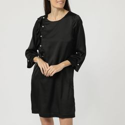 textil Mujer Vestidos cortos Anany AN-250107 NEGRO