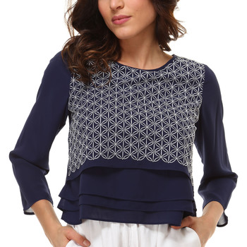 textil Mujer Camisas Anany AN-260101 AZUL