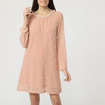 textil Mujer Vestidos cortos Anany AN-290066 ROSA
