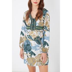 textil Mujer Vestidos cortos Anany AN-L2699 VERDE