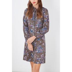 textil Mujer Vestidos cortos Anany D7647 GRIS