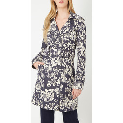 textil Mujer Trench Anany D7725 AZUL