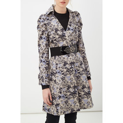 textil Mujer Trench Anany D7753 AZUL