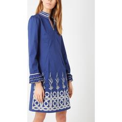textil Mujer Vestidos cortos Anany D7888 AZUL