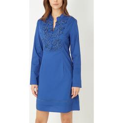 textil Mujer Vestidos cortos Anany D7891 AZUL