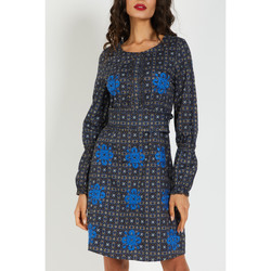 textil Mujer Vestidos cortos Anany DLA7085 AZUL