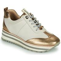 Zapatos Mujer Zapatillas bajas JB Martin 4CANDIO Blanco / Oro