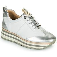 Zapatos Mujer Zapatillas bajas JB Martin 4CANDIO Plata / Blanco