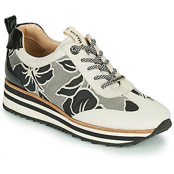 Zapatos Mujer Zapatillas bajas JB Martin 4CASSIE Gris / Negro