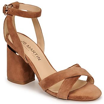 Zapatos Mujer Sandalias JB Martin KIMOE Marrón