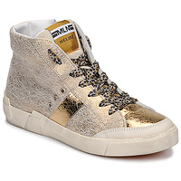 Zapatos Mujer Zapatillas altas Meline NK1384 Oro