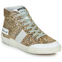 Zapatos Mujer Zapatillas altas Meline NKC1369 Oro