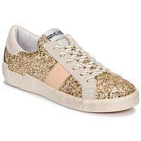 Zapatos Mujer Zapatillas bajas Meline NKC1381 Oro
