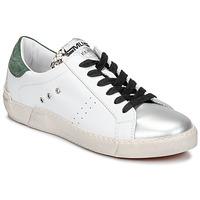 Zapatos Mujer Zapatillas bajas Meline NKC1392 Blanco / Verde