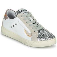 Zapatos Mujer Zapatillas bajas Meline CAR139 Blanco / Glitter