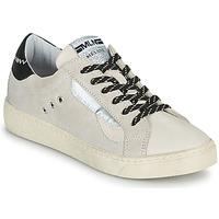 Zapatos Mujer Zapatillas bajas Meline CAR139 Beige / Negro
