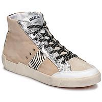 Zapatos Mujer Zapatillas bajas Meline NK1384 Beige / Cebra