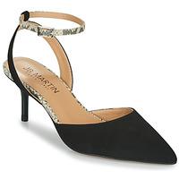 Zapatos Niña Sandalias JB Martin TWISTO Negro / Blanco