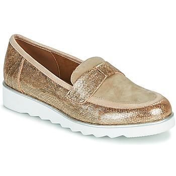 Zapatos Mujer Mocasín Sweet BETOUN Oro