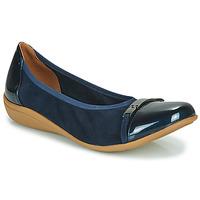 Zapatos Mujer Bailarinas-manoletinas Sweet CLAMS Marino