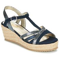 Zapatos Mujer Sandalias Sweet ESNOU Marino