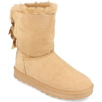 Zapatos Mujer Botas de nieve Woman Key 2000-31 Taupe