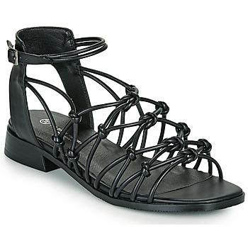 Zapatos Mujer Sandalias The Divine Factory LS1793H Negro