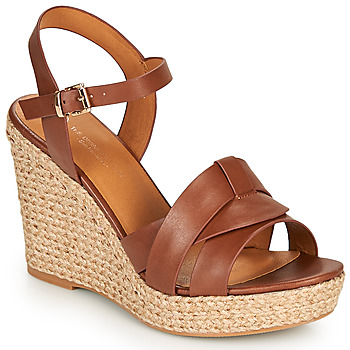 Zapatos Mujer Sandalias The Divine Factory LS6932 Camel