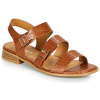 Zapatos Mujer Sandalias The Divine Factory LS1793H Camel