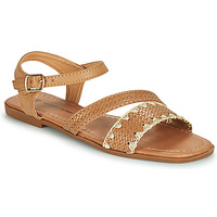Zapatos Mujer Sandalias The Divine Factory TX4339 Camel