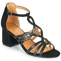 Zapatos Mujer Sandalias The Divine Factory QL4327 Negro