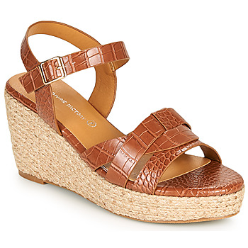 Zapatos Mujer Sandalias The Divine Factory QL4351 Camel