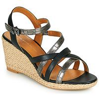 Zapatos Mujer Sandalias The Divine Factory QL4354 Negro