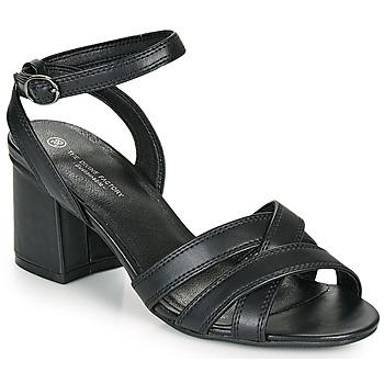 Zapatos Mujer Sandalias The Divine Factory LS2115 Negro