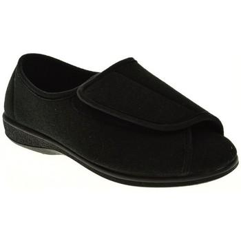 Zapatos Mujer Pantuflas Pinturines ZAPATILLAS SEÑORA  NEGRO Negro