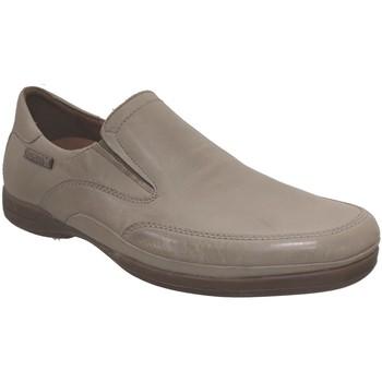 Zapatos Hombre Mocasín Mephisto ROBIN Cuero beige