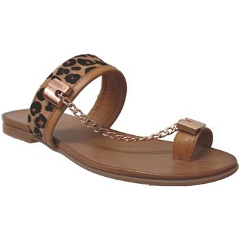 Zapatos Mujer Sandalias Inuovo 5258 CHAINE Marrón claro